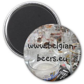 Imán belga de las cervezas