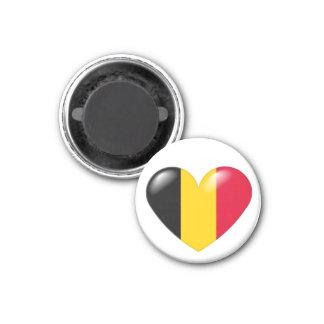 Imán belga del corazón - belge de Coeur