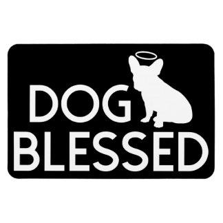 """Imán bendecido """"perro"""" de Flexi del ángel del dogo"""