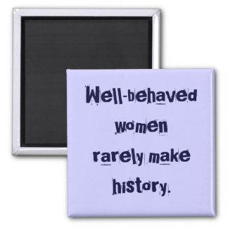 imán Bien-comportado de las mujeres