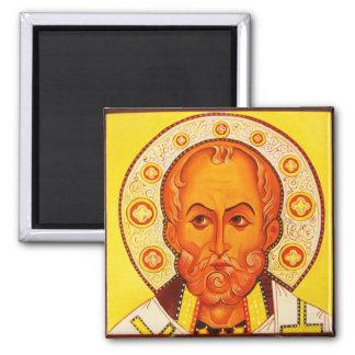 Imán bizantino ortodoxo del icono de San Nicolás