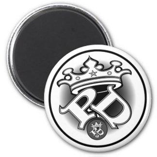 Imán blanco del logotipo del Poe SID