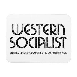 Imán blanco socialista occidental