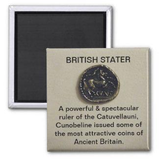 Imán británico de la foto de Stater