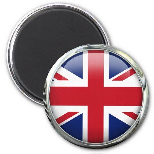 Imán británico de Union Jack de la bandera