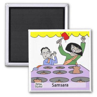 Imán budista medio - Samsara