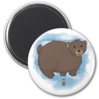 Imán caliente del globo del oso