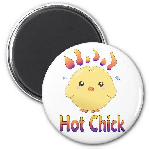 Imán caliente lindo del polluelo de Kawaii