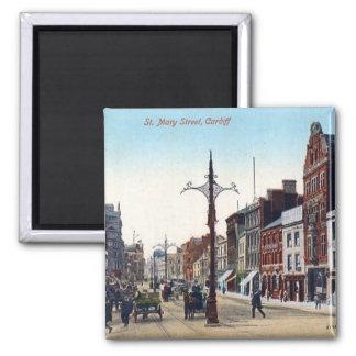 Imán - calle de Cardiff St Mary