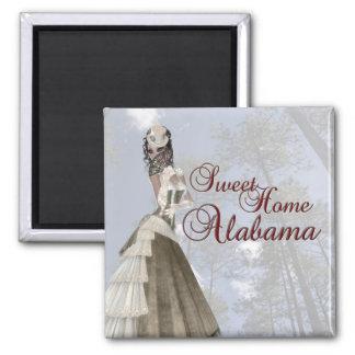 Imán casero de Swett Alabama