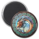 Imán céltico del dragón