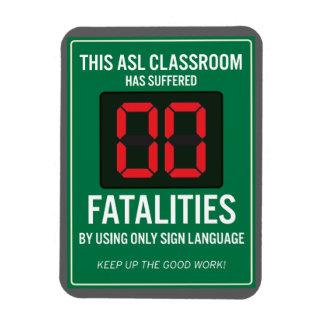 Imán cero de las fatalidades del ASL