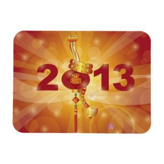 Imán chino del Año Nuevo 2013