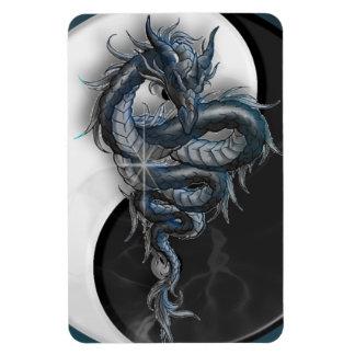 Imán chino del premio del dragón de Yin Yang