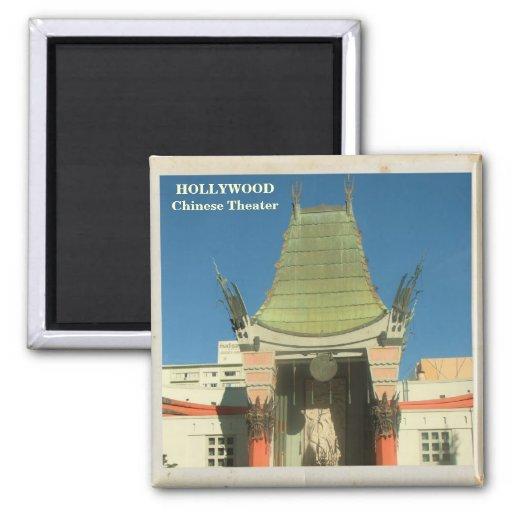 ¡Imán chino del teatro de Hollywood!