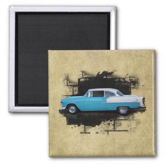 Imán clásico 1955 de los coches del Aire del belio
