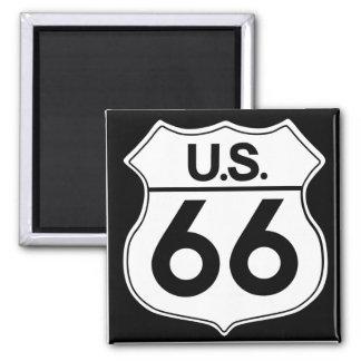 Imán clásico 2 de la ruta 66