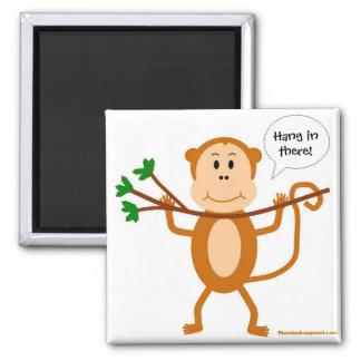 Imán colgante del mono