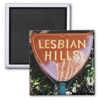 """Imán - """"colinas lesbianas """""""