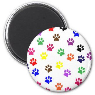 Imán colorido de la diversión del mascota del perr