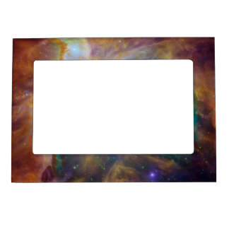 Imán colorido del marco de la foto de la nebulosa marcos magnéticos para fotos