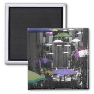 Imán colorido del paraguas
