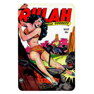 Imán cómico de Rulah 1949 del vintage