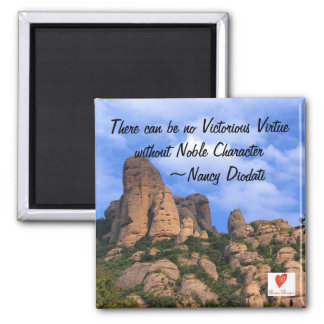 Imán completamente sólido de la virtud