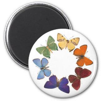 Imán con el anillo de la mariposa