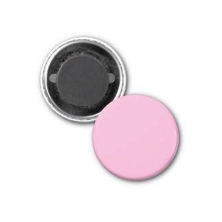 Imán con el fondo rosado