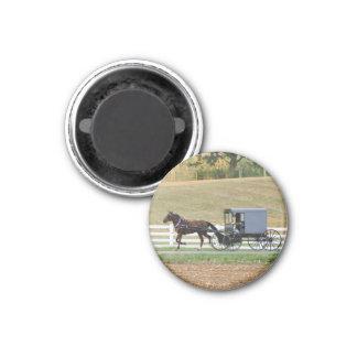Imán con errores del carro de Amish