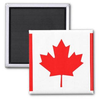 Imán con la bandera de Canadá