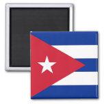 Imán con la bandera de Cuba