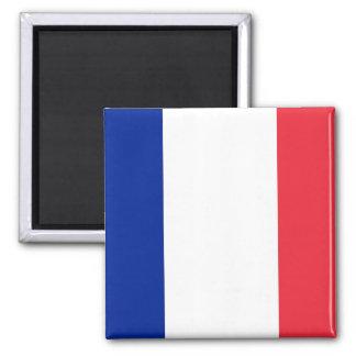 Imán con la bandera de Francia