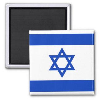 Imán con la bandera de Israel