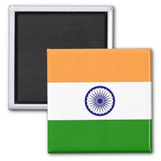 Imán con la bandera de la India