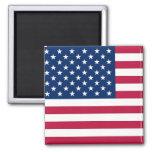Imán con la bandera de los E.E.U.U.