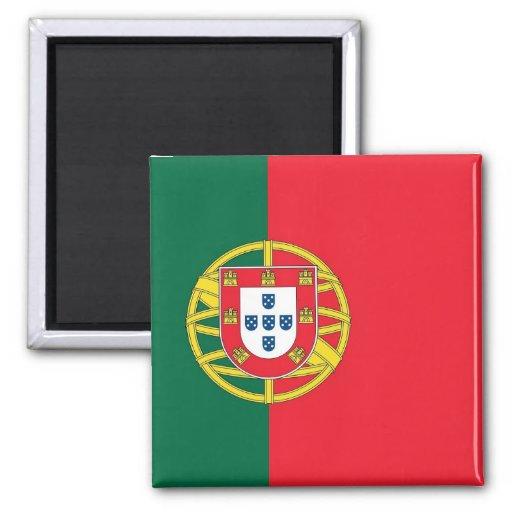 Imán con la bandera de Portugal