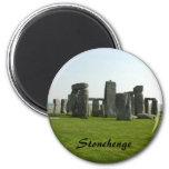Imán con la foto de Stonehenge