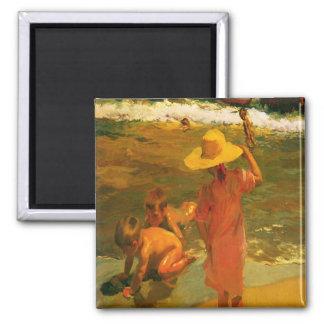 Imán con la pintura de Joaquín Sorolla y Bastida