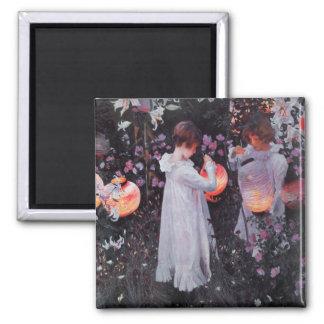 Imán con la pintura de John Singer Sargent
