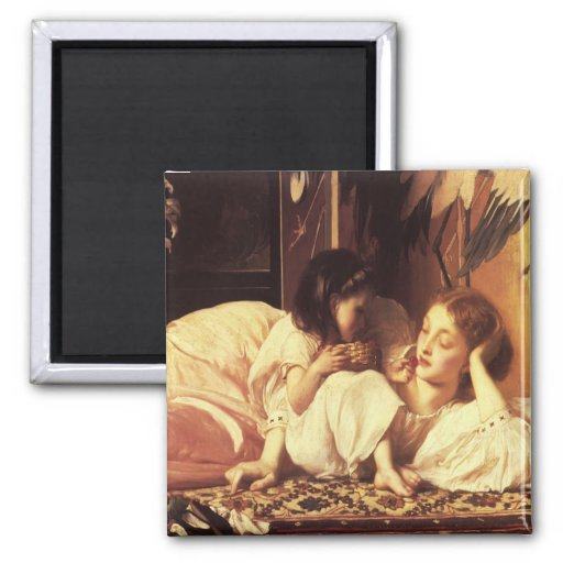 Imán con señor Frederick Leighton Painting
