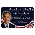 Imán conmemorativo 2013 de la inauguración de Obam