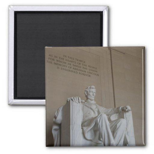 Imán conmemorativo del Washington DC de Abraham Li