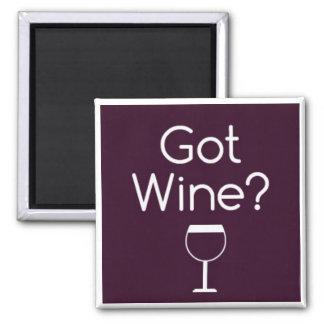 Imán conseguido del cuadrado del vino