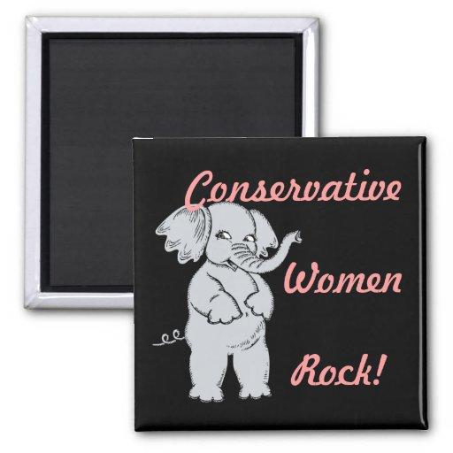 Imán conservador de la roca de las mujeres