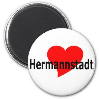 Imán corazón Hermannstadt
