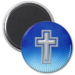 Imán cristiano con la cruz