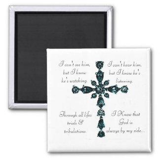 Imán cruzado religioso