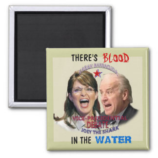 Imán cuadrado de Biden v. Palin